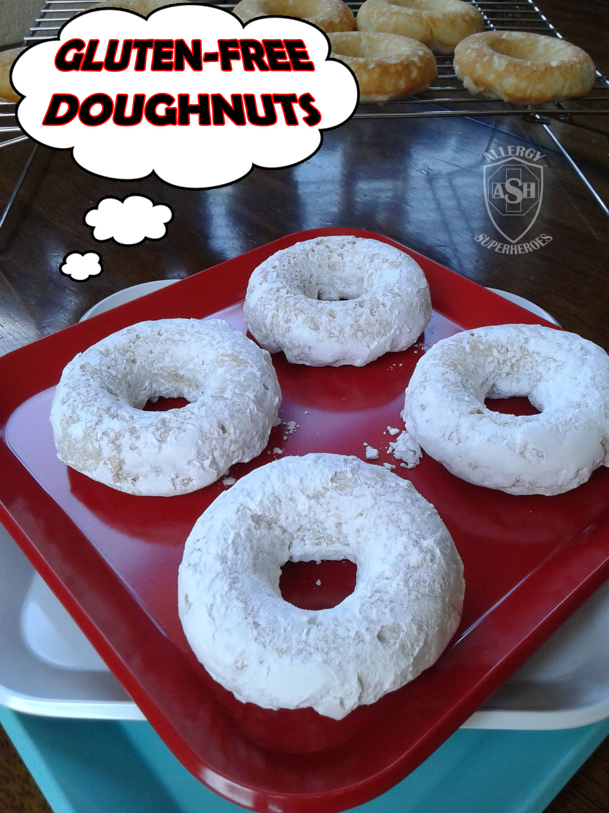 Gluten Free Baked Doughnut Goodies