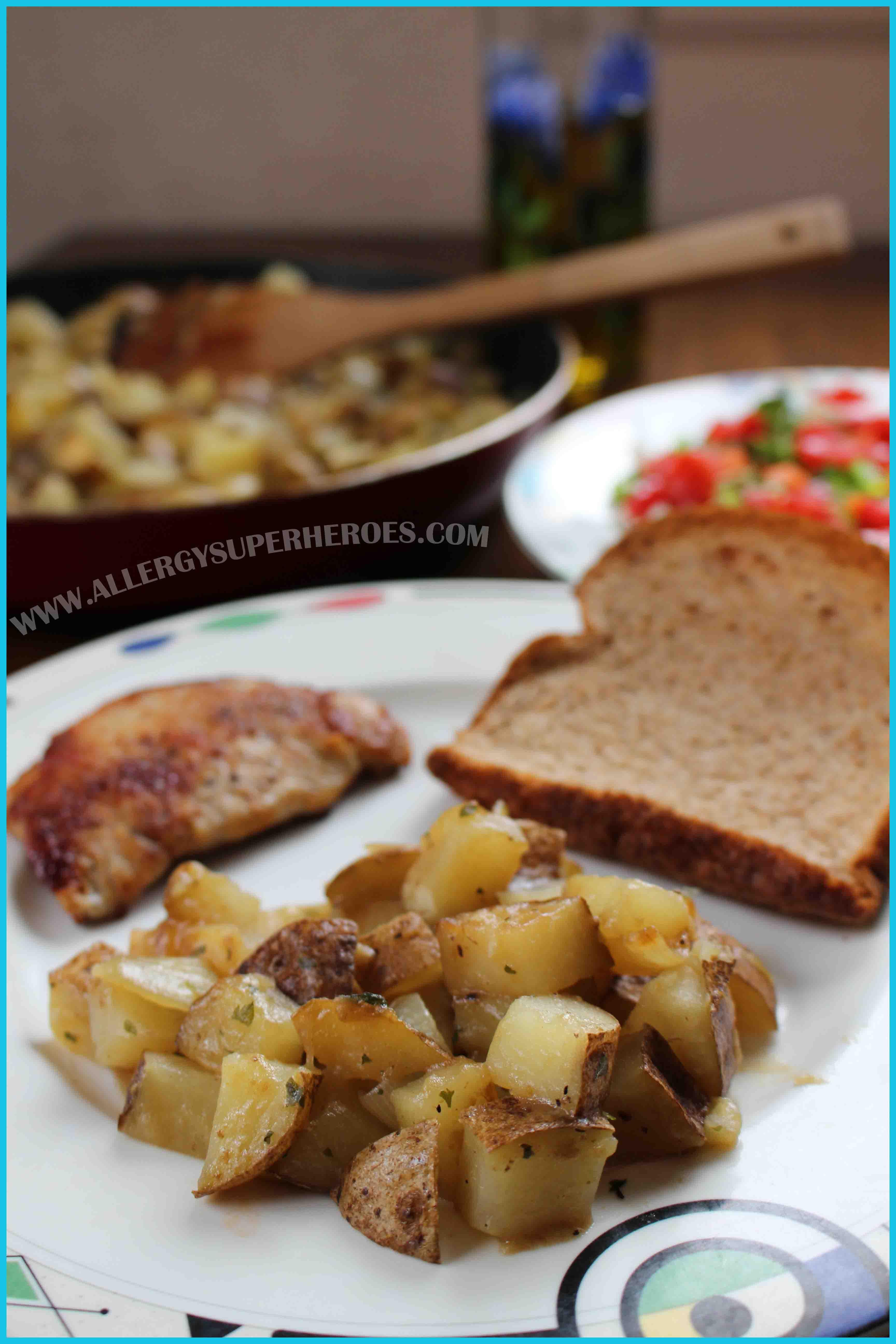 Easy Potatoes Boulanger