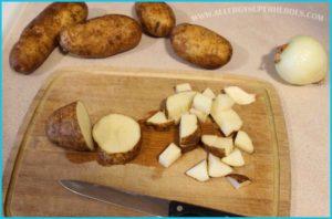 Easy Potatoes Boulanger recipe Food Allergy Superheroes 02