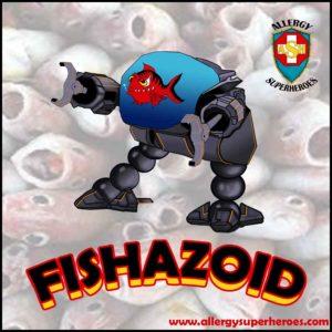 Meet Fishazoid Food Allergy Superheroes Fish Allergy