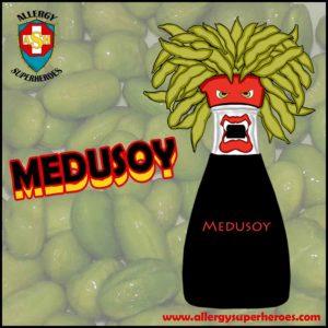 Meet Medusoy Food Allergy Superheroes Soy Allergy