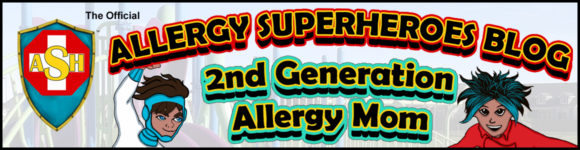 Allergy Superheroes Blog Header 2nd Gen Allergy Mom
