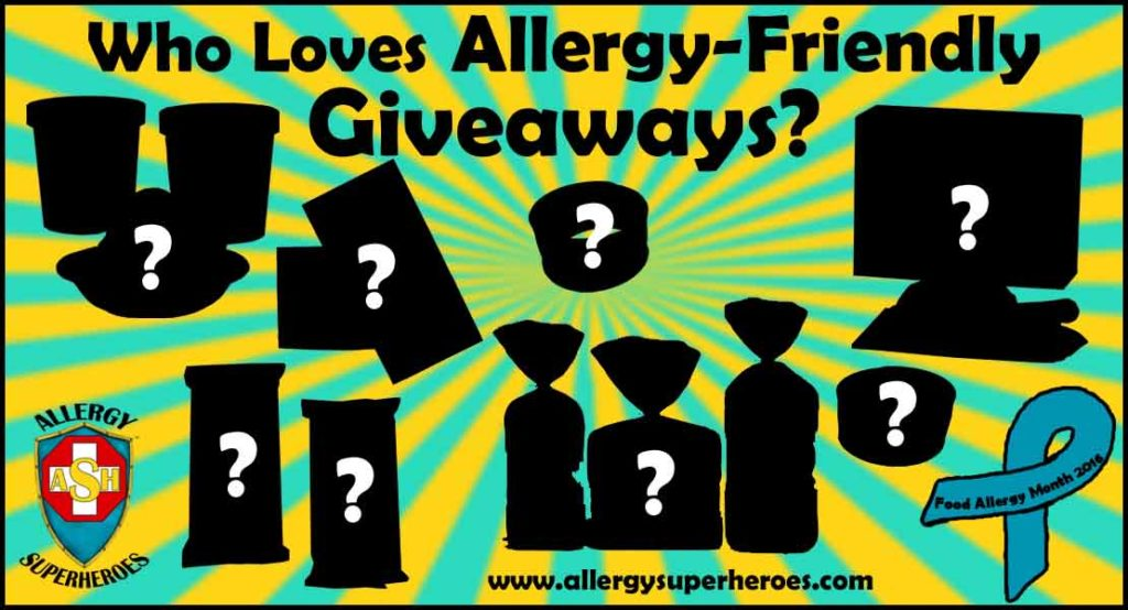 04 Giveaways are Coming Food Allergy Superheroes