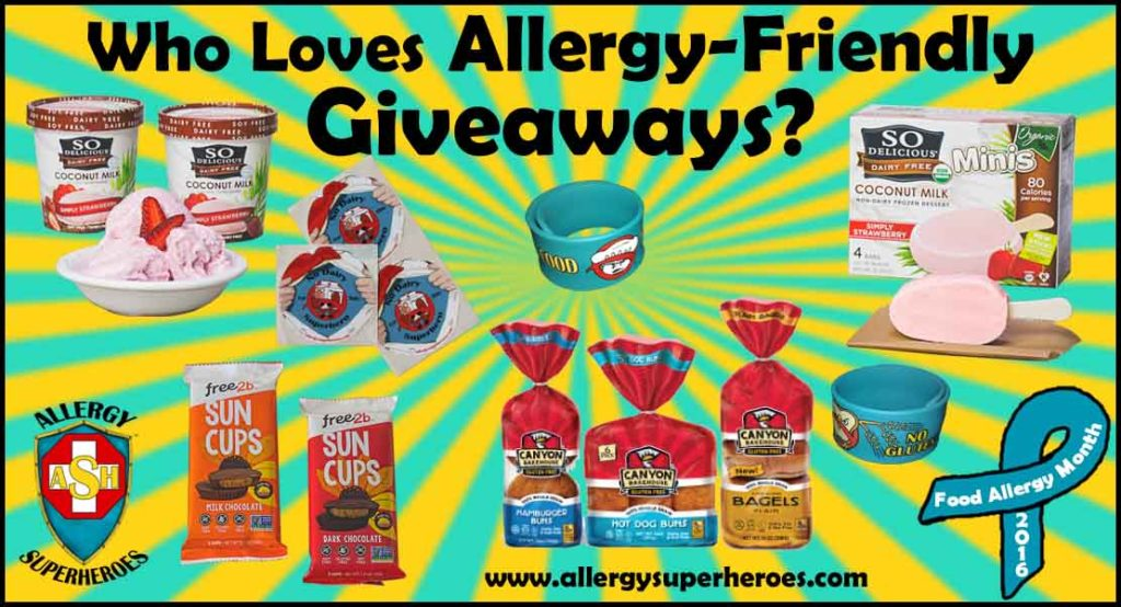 25 All Giveaways Revealed Food Allergy Superheroes