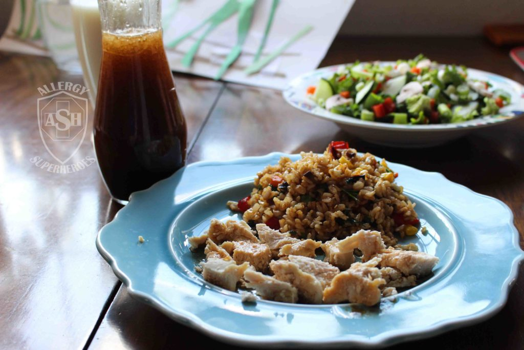 Asian Salad Dressing recipe Food Allergy Superheroes 8