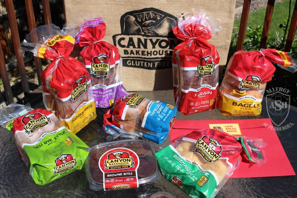Canyon Gluten Free giveaway Food Allergy Superheroes 1