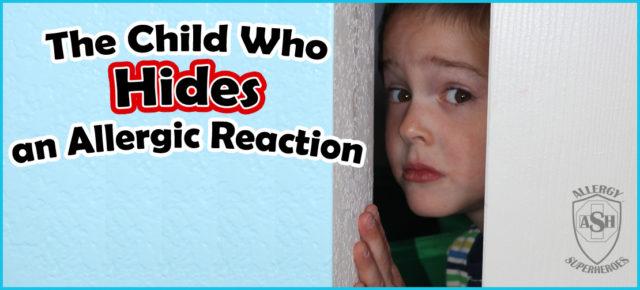 Child who hides Sticky F