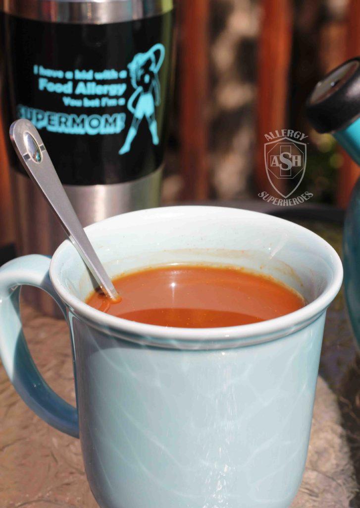 Cocoa Turmeric Tea