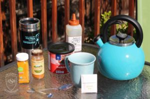 Cocoa Turmeric Tea recipe Food Allergy Superheroes 01