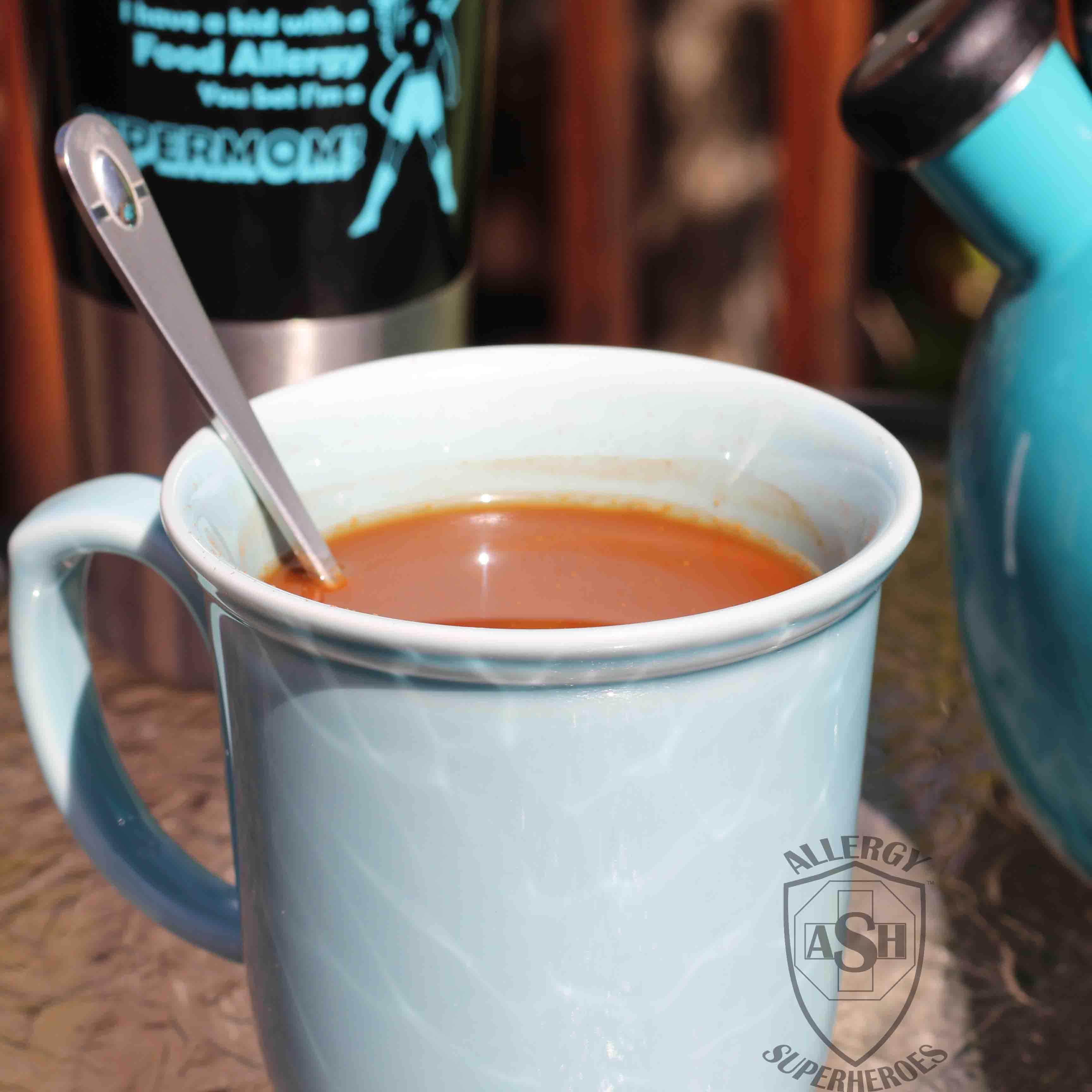 Cocoa turmeric tea allergy superheroes blog forumfinder Choice Image