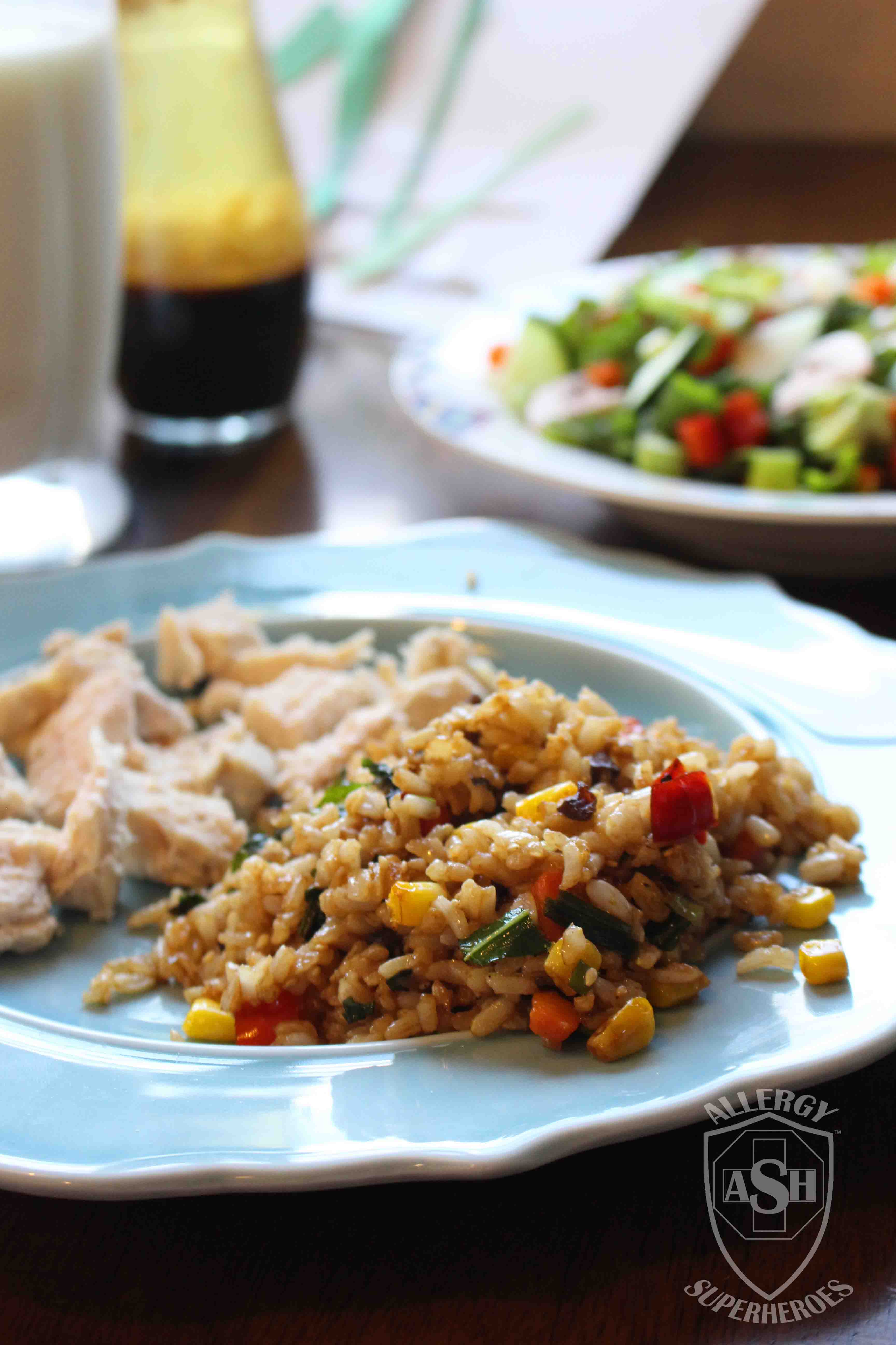 Egg-Free Fried Rice