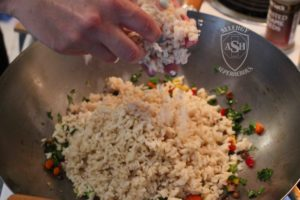 Fried Rice recipe Food Allergy Superheroes 05