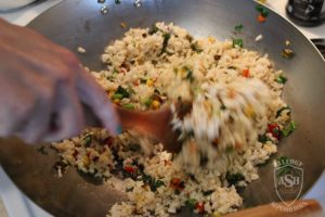 Fried Rice recipe Food Allergy Superheroes 06