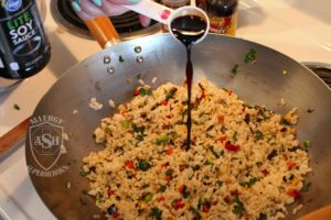 Fried Rice recipe Food Allergy Superheroes 07