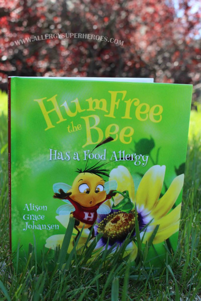 HumFree the Bee Review Food Allergy Superheroes 5