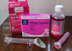 06 Benadryl Diphenhydramine antihistamine Food Allergy Superheroes