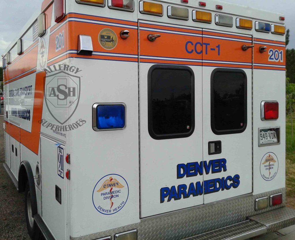 07 Ambulance Emergency Room Food Allergy Superheroes