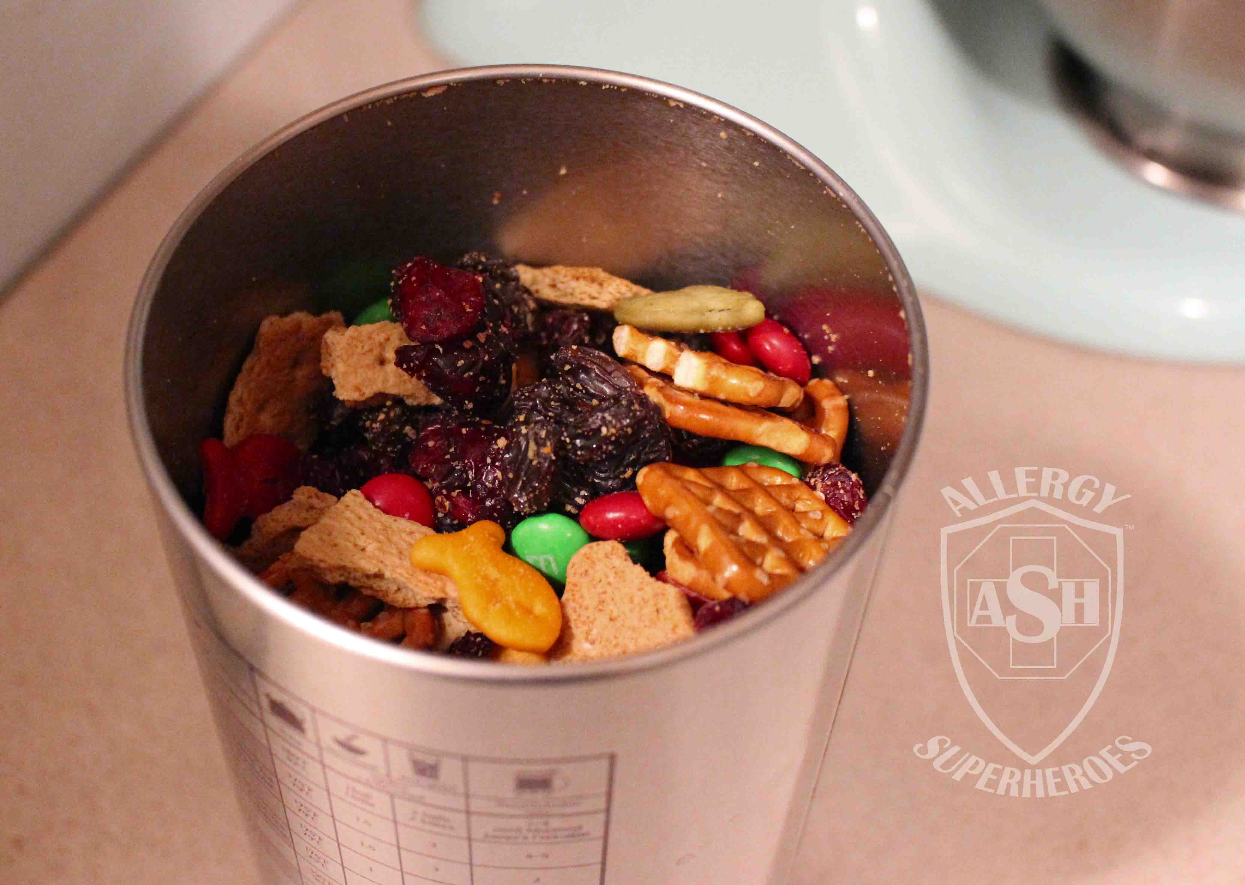 Allergy Friendly Trail Mix Food Allergy Superheroes 08