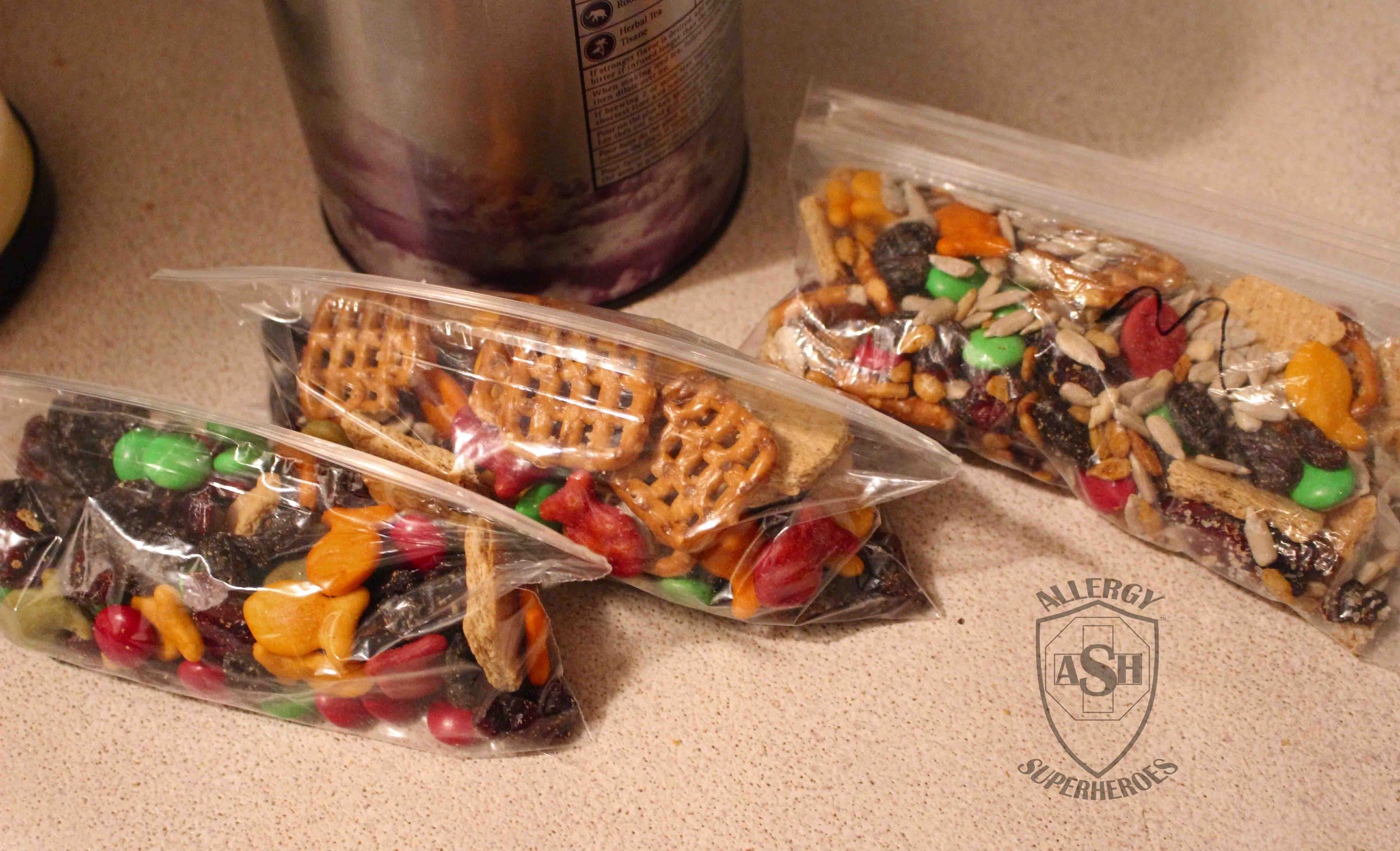 Allergy Friendly Trail Mix Food Allergy Superheroes 09
