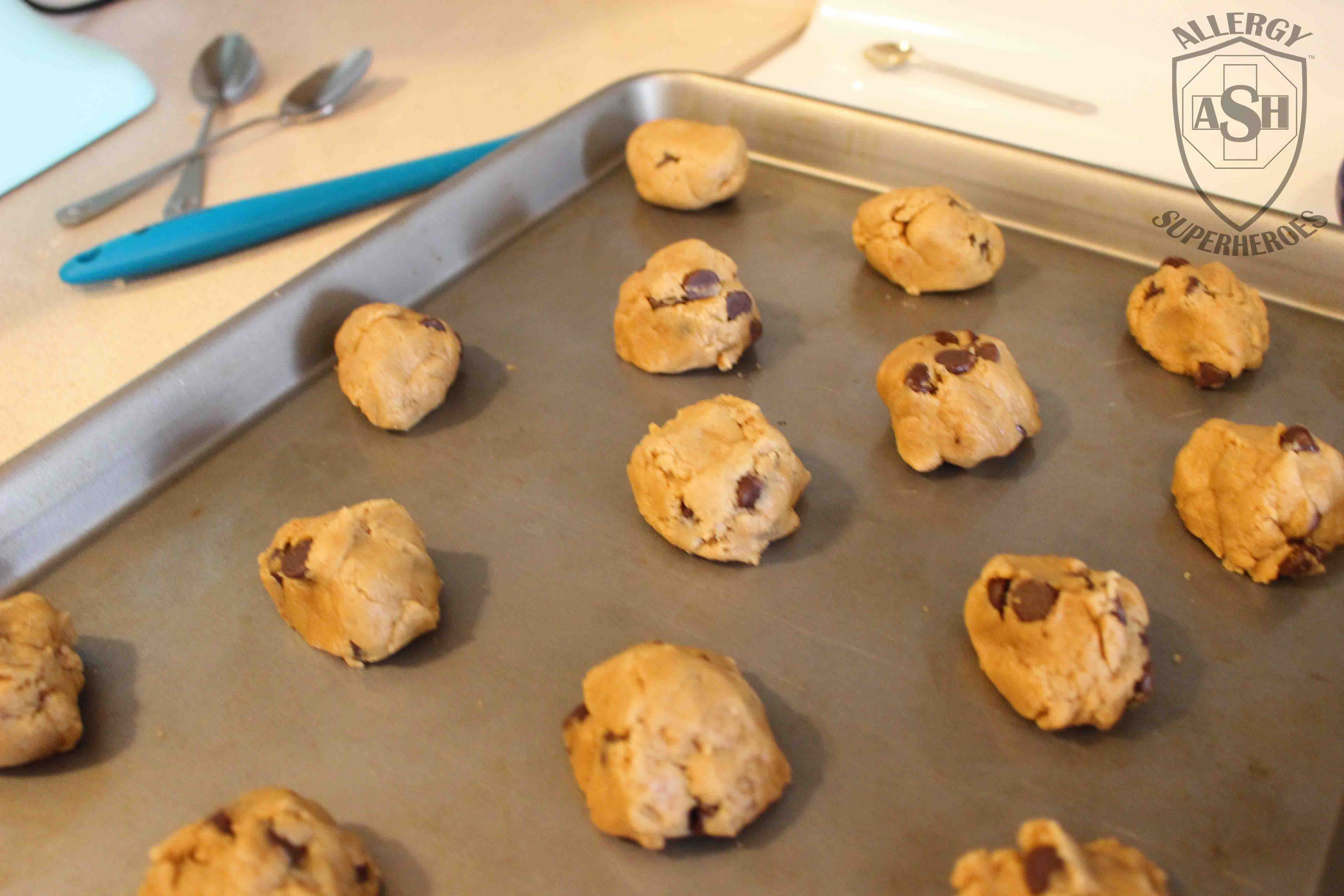 Sunbutter Chocolate Chip Cookies recipe Food Allergy Superheroes 5
