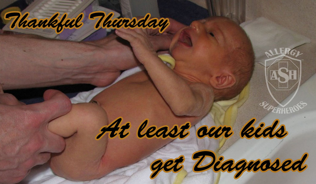 Thankful Thursday | Allergic Diseases may not be so new, just easier to survive | Allergy Superheroes