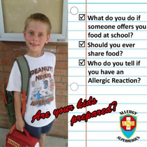 Back to School with Food Allergies – Questions Allergic Kids Should Answer