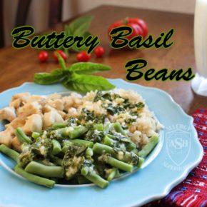Buttery Basil Beans