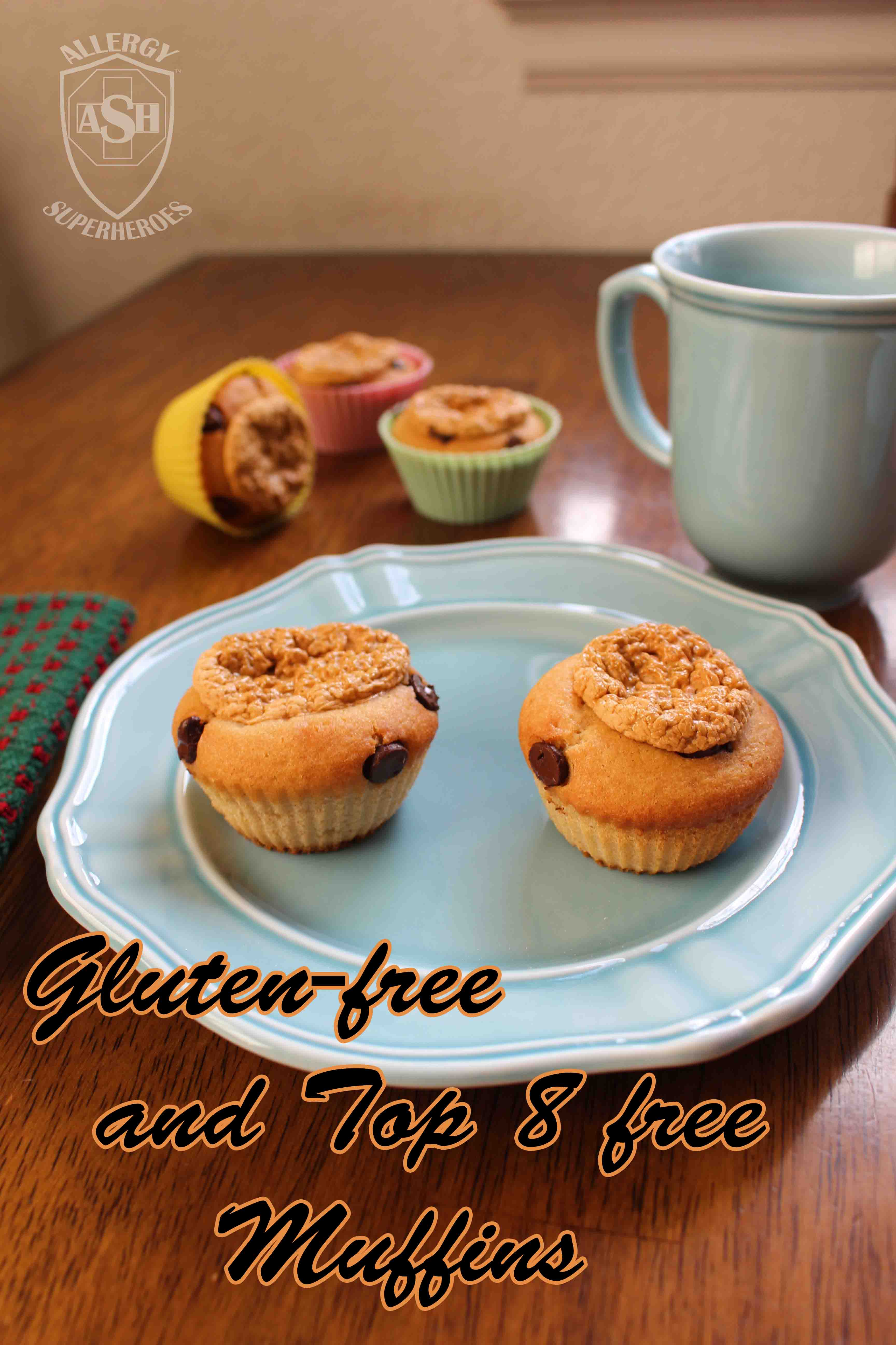 Gluten and Top 8 Free Muffins | Super Tasty! | Allergy Superheroes