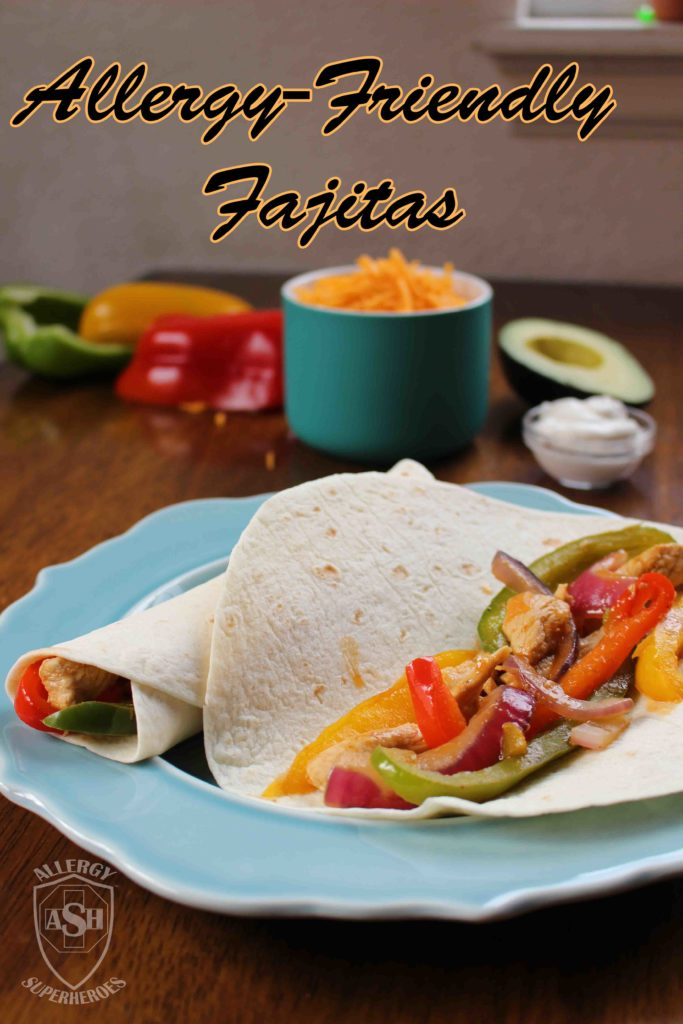 Easy From-Scratch Fajitas to Satisfy Any Palate! | from Allergy Superheroes Blog