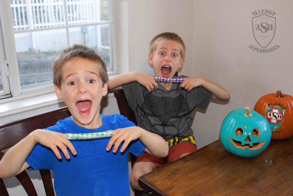 Finger traps for Halloween from Oriental Trading | Allergy Superheroes