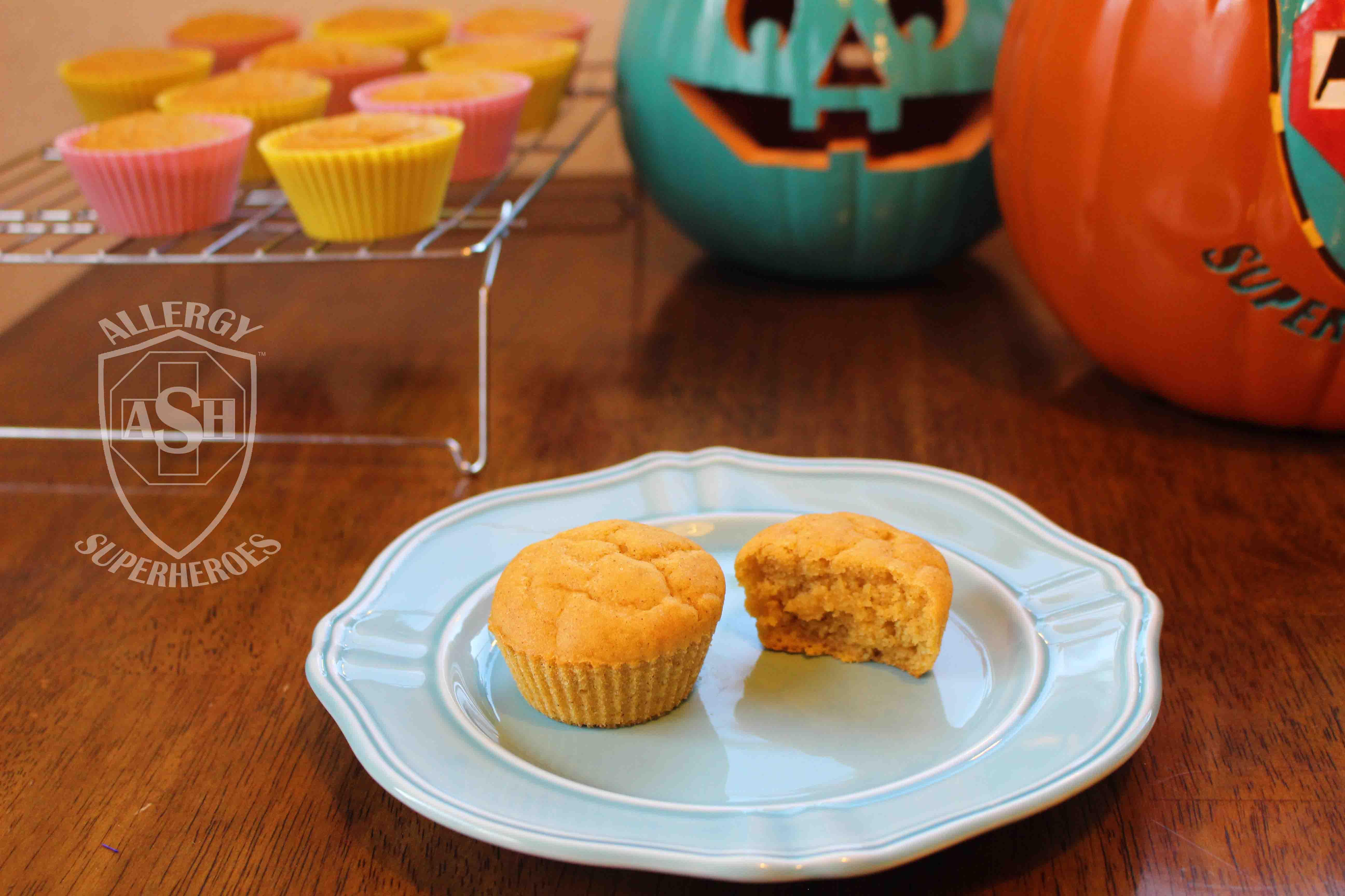 Pumpkin spice muffins allergy superheroes blog delicious pumpkin spice muffins from allergy superheroes forumfinder Choice Image