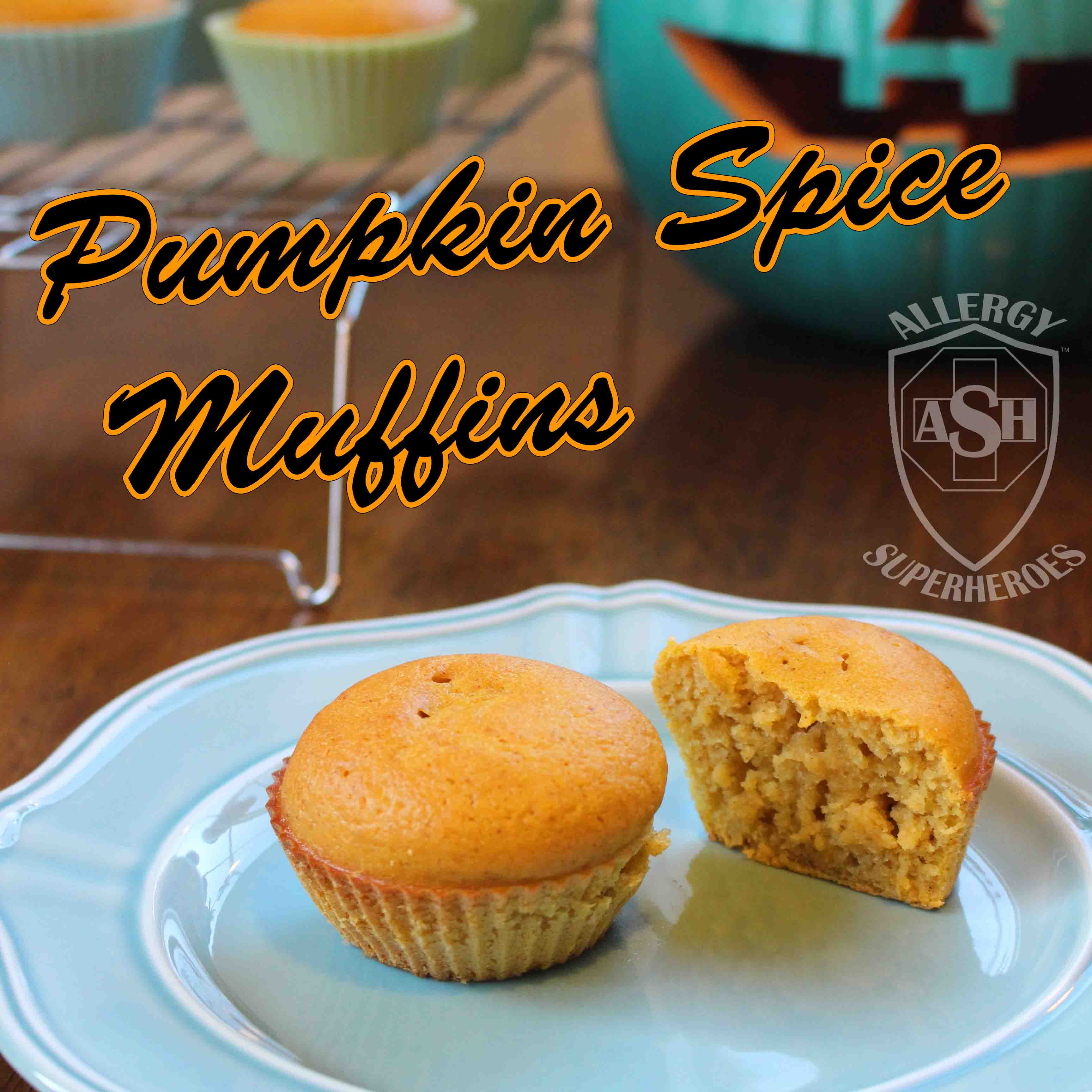 Delicious Pumpkin Spice Muffins from Allergy Superheroes