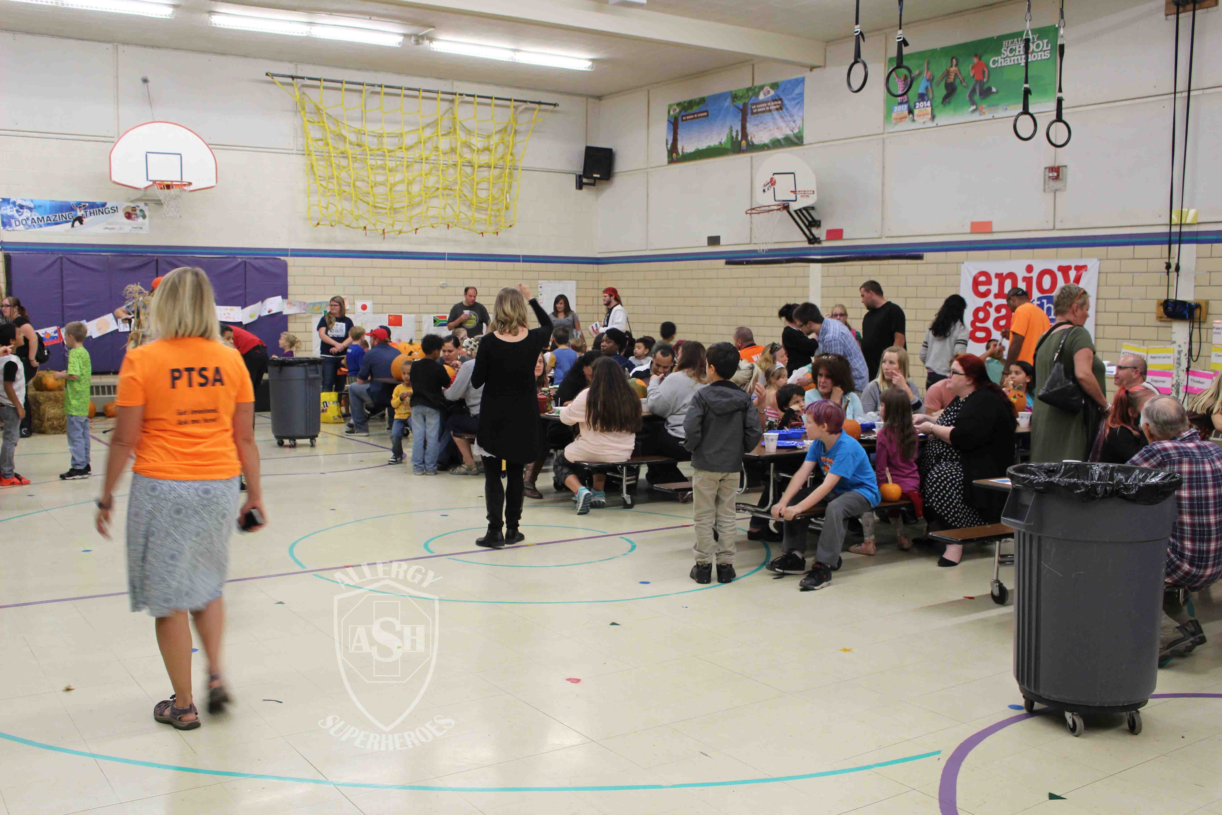 Bringing Allergy Friendliness to a school function! | Allergy Superheroes