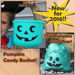 Exciting Teal Pumpkin Products!