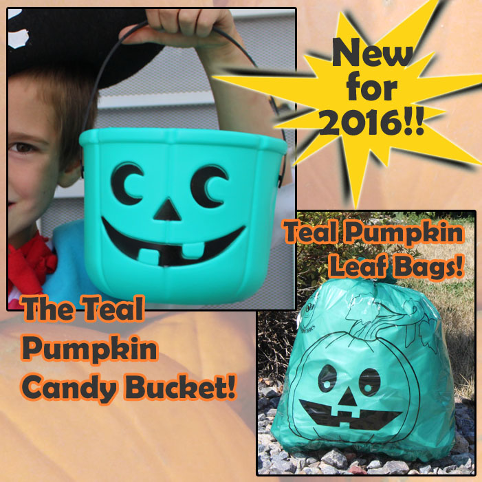 New Teal Pumpkin