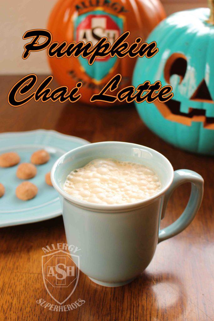 Warming Pumpkin Chai Latte | Perfect for Pumpkin Season! | from Allergy Superheroes
