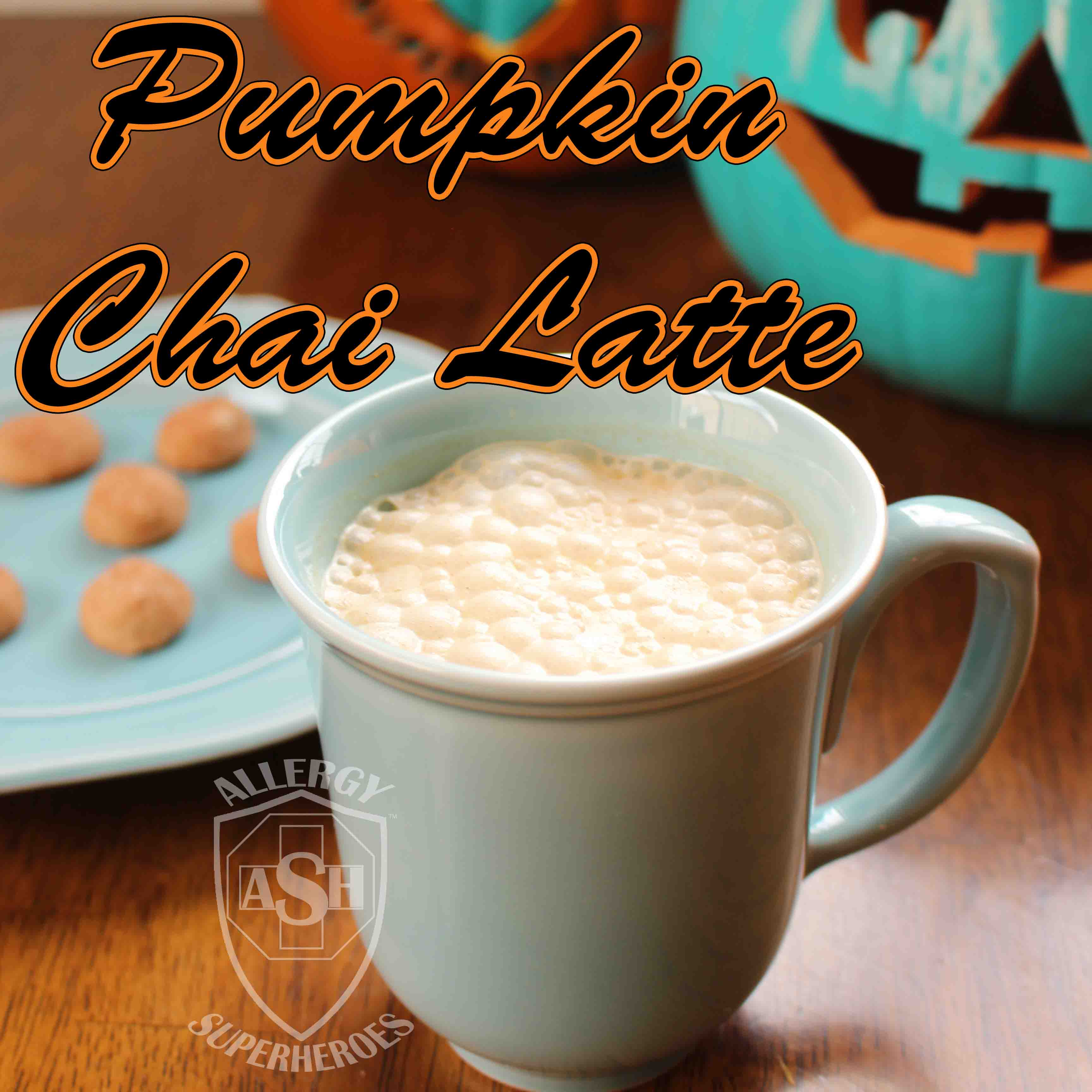 Warming Pumpkin Chai Latte | Perfect for Pumpkin Season! | from Allergy Superheroes