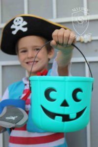Teal Pumpkin Candy Bucket | Perfect for Halloween and Food Allergies | from Allergy Superheroes