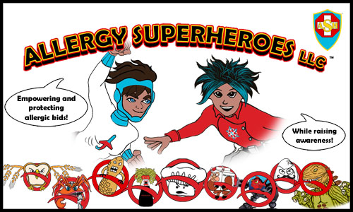 Allergy Superheroes: Empowering and Protecting Allergic Kids While Raising Awareness