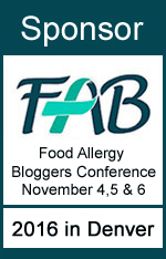 Proudly sponsoring the Food Allergy Bloggers Conference for our Second Year!