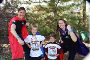 Super Allergy Superheroes Family