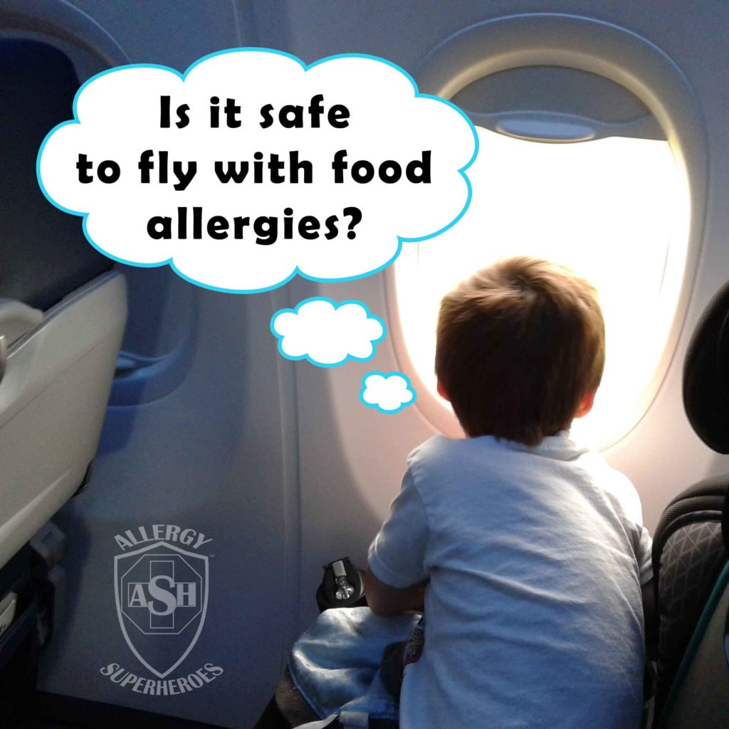 Airline Food Allergy Policies range from helpful to discriminatory | Allergy Superheroes