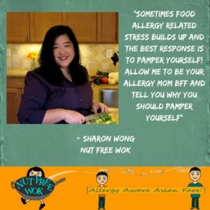 Sharon Wong Nut Free Wok's New Year's Tip