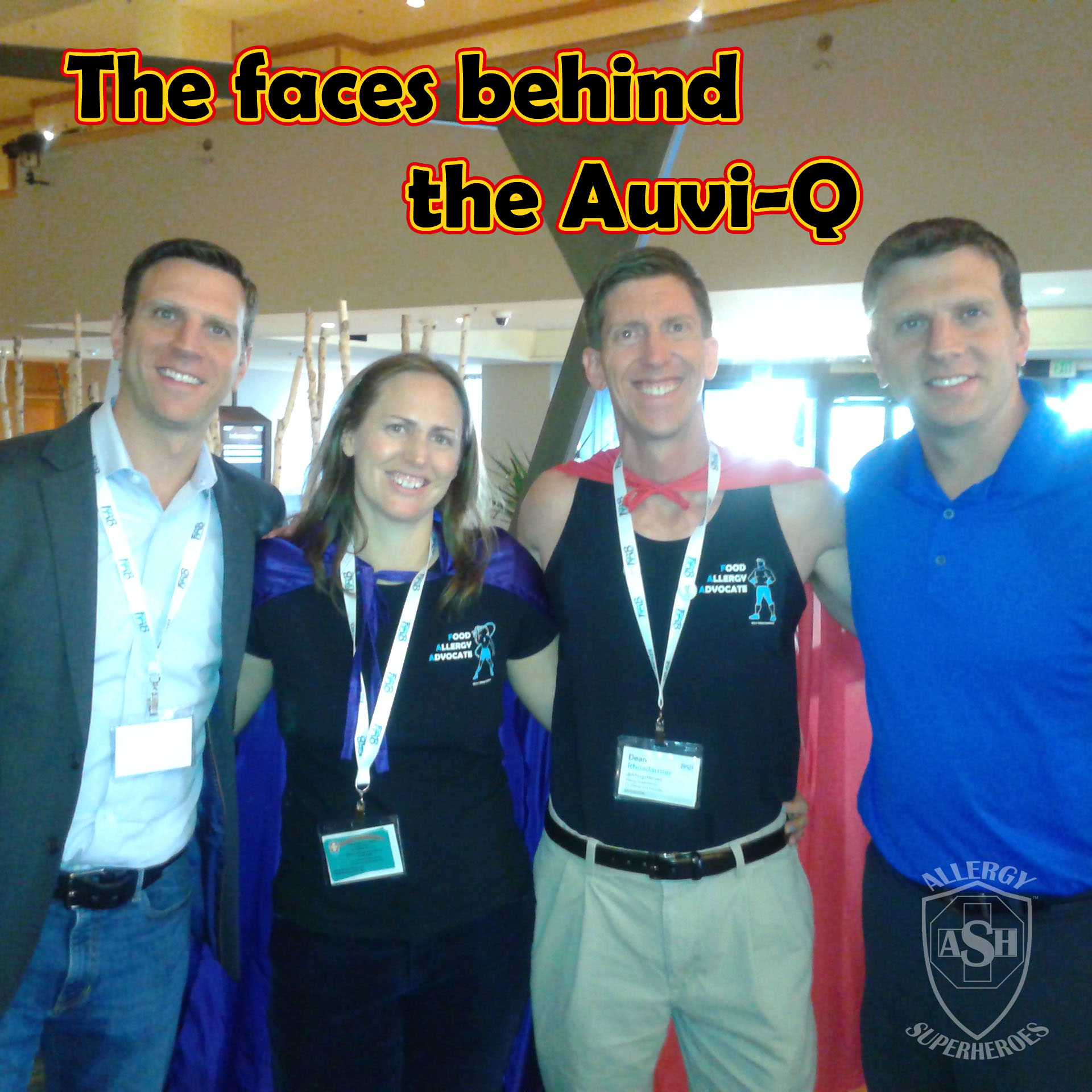Allergy Superheroes meet Eric and Evan Edwards of kaleo - inventors of the Auvi-Q!