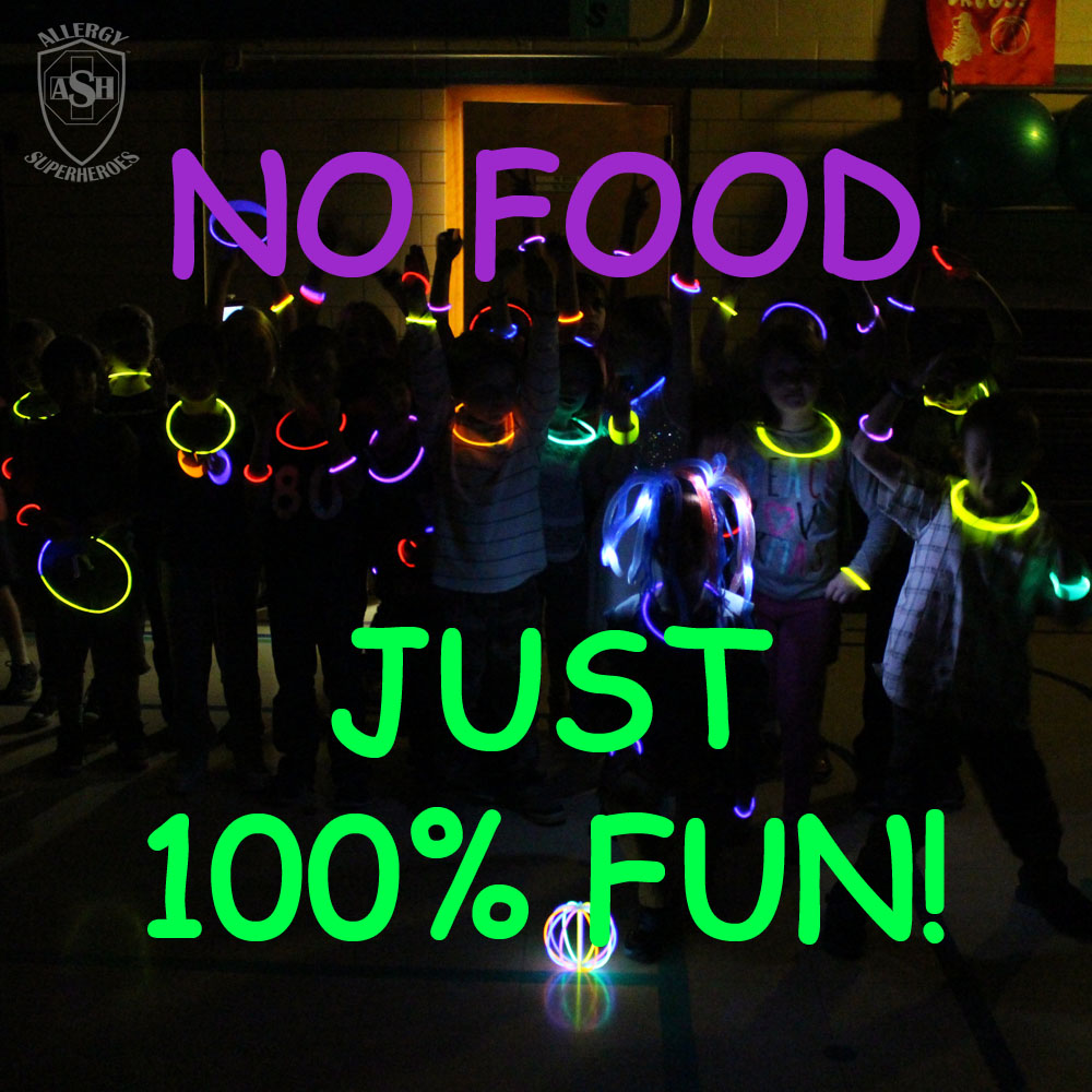Glow Birthday Party | Tons of Fun with No Food in Sight! | Allergy Superheroes