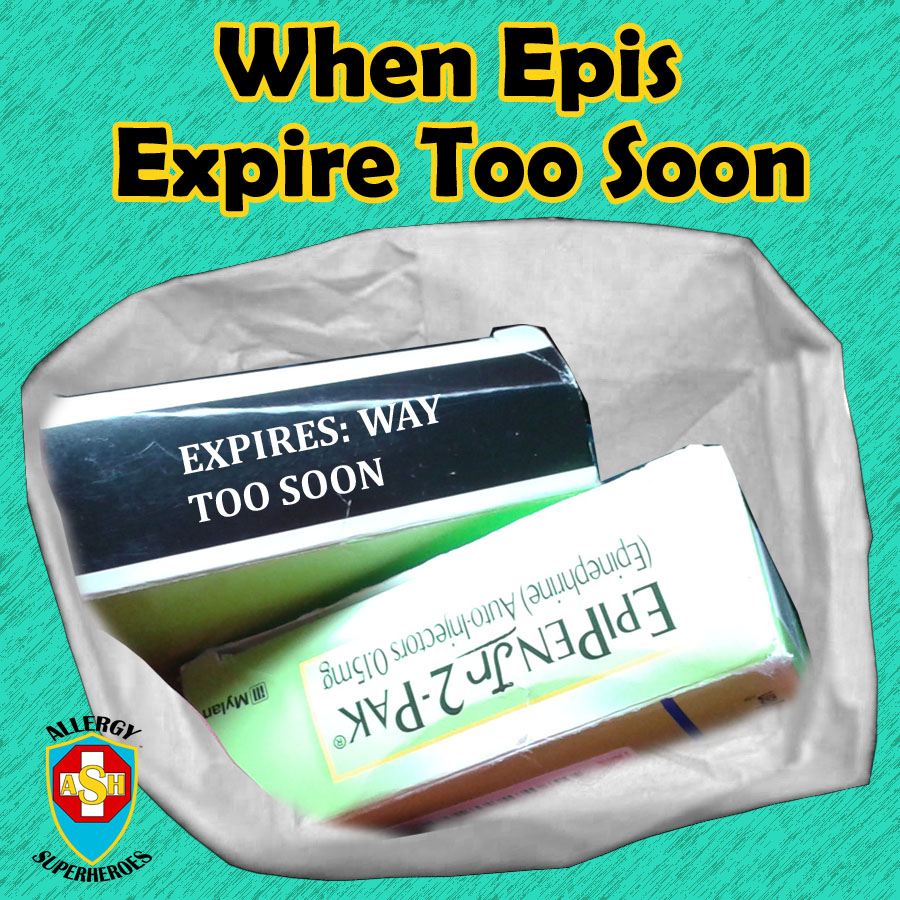 What to do when your Epinephrine Autoinjector Expires Before your Prescription Does! from Allergy Superheroes