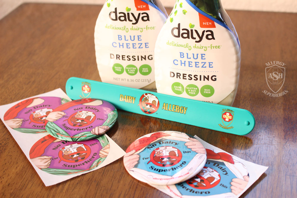 Daiya Blue Cheeze and Allergy Superheroes Dairy Allergy Products GIVEAWAY! | from Allergy Superheroes
