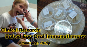 Baked Egg Oral Immunotherapy Study | Food Allergy Superheroes