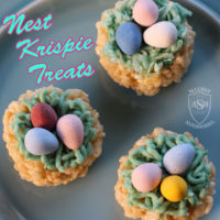 Nest Krispie Treats, the Perfect Easter Dessert! | Allergy Superheroes