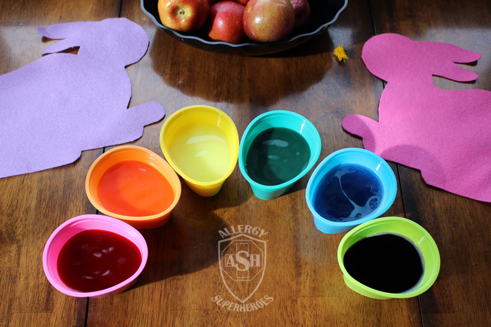 How to Dye Easter Eggs Using Kool-Aid | from Allergy Superheroes